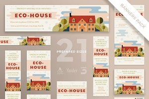 Banners Pack | Eco House