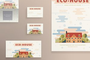 Print Pack | Eco House