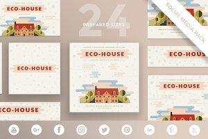 Social Media Pack | Eco House