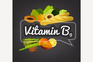 Vitamin B9 Banner