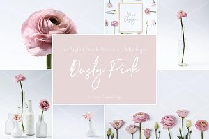 Dusty Pink | Floral Styled Stock