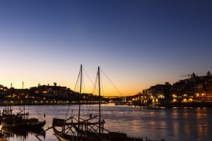 Douro river and city of Porto