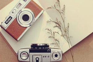Vintage camera lover