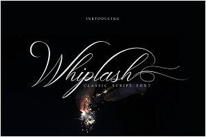 Whiplash Classic Calligraphy