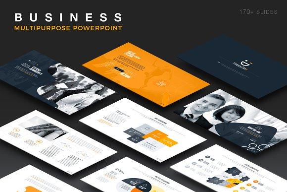 Beta Business PowerPoint Template