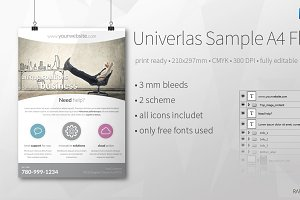 Univerlas Sample A4 Flyer