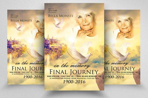 Final Journey Flyer Template