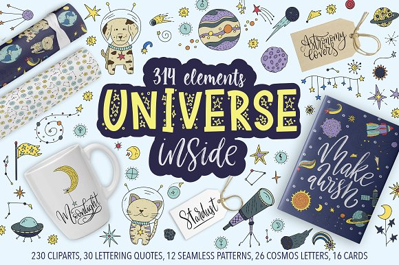 Universe Inside Graphic Collection