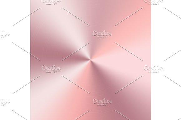 Golden conical metal gradient