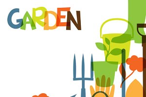 Garden backgrounds.