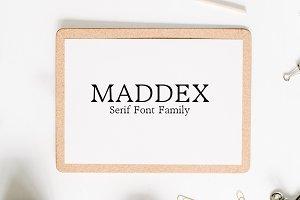 Maddex Serif 3 Font Family