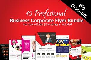 10 Business Flyers Bundle Vol:06