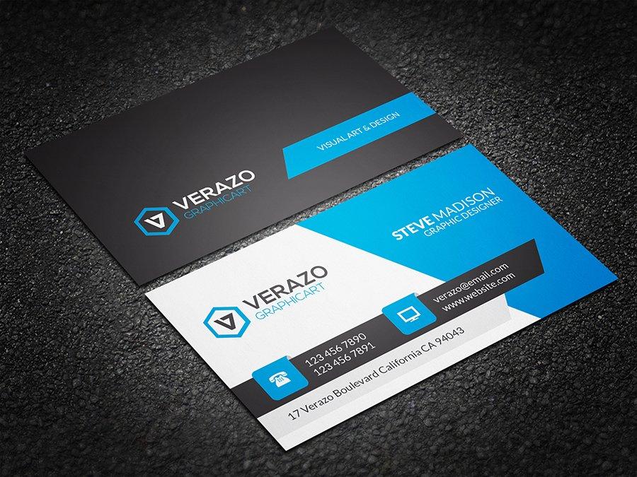 Modern Corporate Business Card ~ Business Card Templates ~ Creative ...