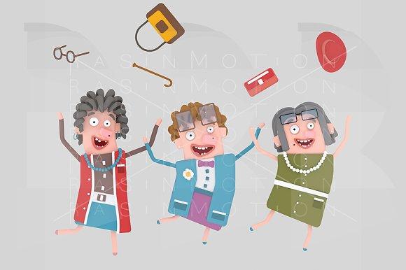 Happy Old Ladies Group