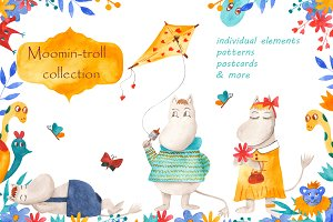Moomin-troll collection