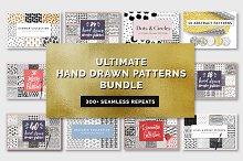 Ultimate Hand Drawn Patterns Bundle