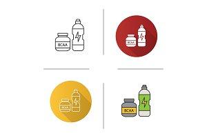 BCAA supplement icon