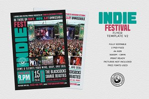 Indie Fest Flyer Template V2