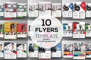 10 Creative Business Flyers Bundle