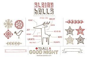 Sleigh Bells (Clipart)