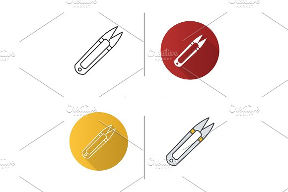Sewing Clippers Icon