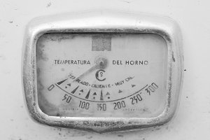 Vintage Oven Thermometer