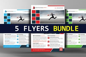 5 Stylish Creative Business Flyer