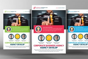 Transport Business Agency Flyer