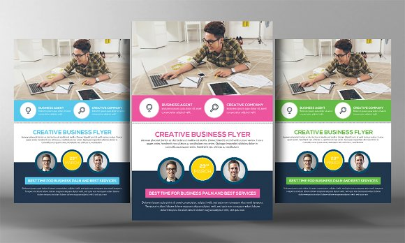 Transport Business Flyer Template