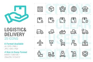 Logistic & Delivery Mini Icon