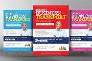 Transport Business Flyer Template