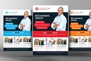 Delivery & Shipment Flyer Template
