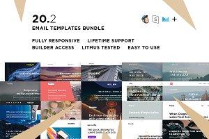 20 Email templates bundle II