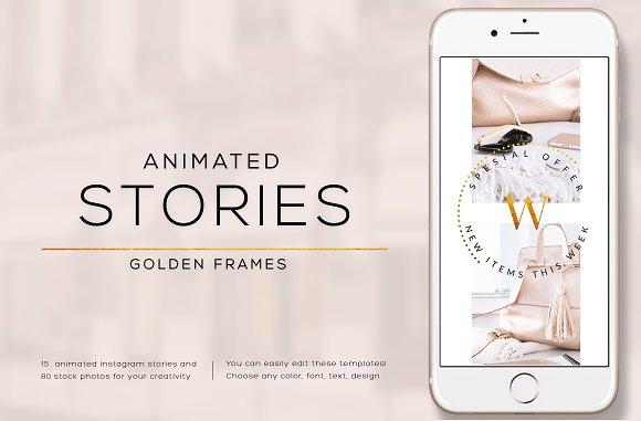 ANIMATED STORIES GOLDEN FRAMES