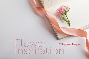 Flower inspiration photo pack
