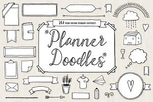 Bullet Journal Diary Planner Doodles