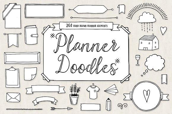 Bullet Journal Diary Planner Doodles