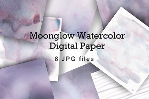Watercolor Wash Digital Paper