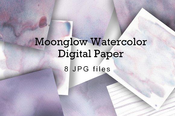 Watercolor Wash Digital Paper
