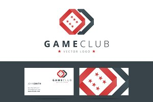 Game club or casino logo