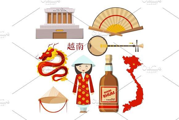 Landmarks And Symbols Of Vietnam