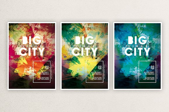 Big City 1 in Flyer Templates - product preview 1