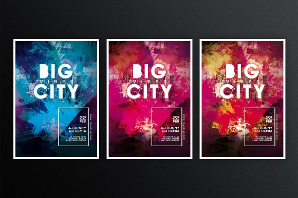 Big City 1 in Flyer Templates - product preview 2