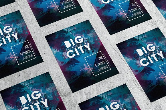 Big City 1 in Flyer Templates - product preview 3