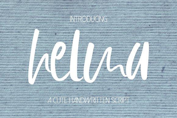 Helma Font