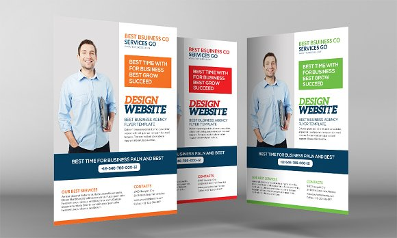 Website Design Agency Flyer Flyer Templates Creative Market