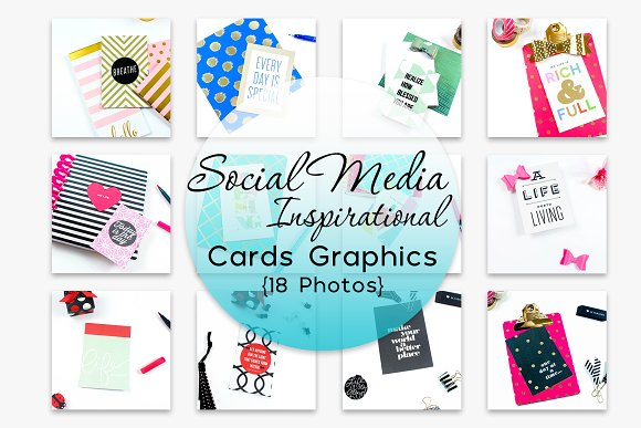 Social Media Inspirational Cards