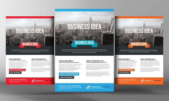 Web Business Flyer