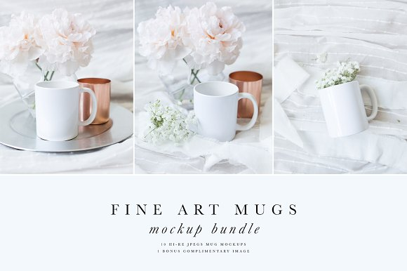 Fine Art Mug Mockup Bundle