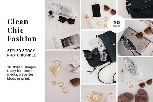 Clean Chic Fashion photo Bundle
